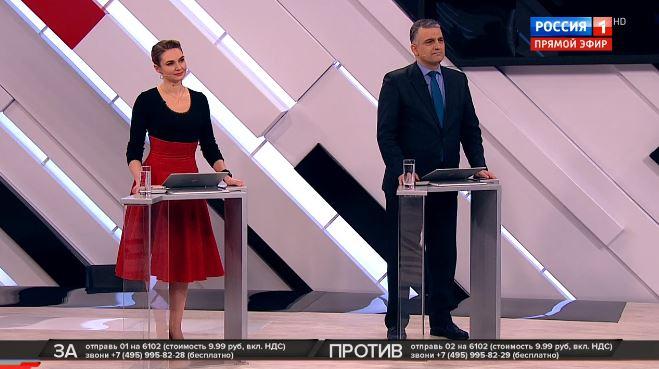Программа Сергея Михеева Кто против? Смотреть онлайн 12.03.2019